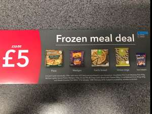 Co op Frozen meal deal starts Now Live - £5