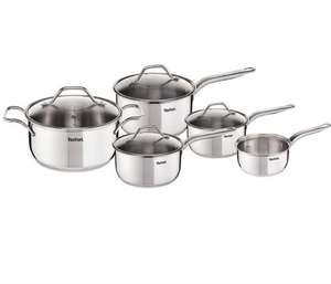 Tefal Intuition Set of 5 Cookware - now £66 was £220 then £110 @ Debenhams