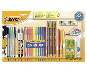 Bic Writing Set 32 Pieces - now £5 @ Tesco Direct