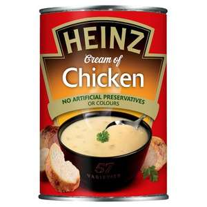 Heinz Classic Cream of Chicken & Tomato soups, five for £2.05 (41p/can) @ Waitrose w/MyWaitrose card