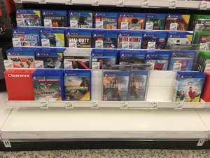 Asda Hyson Green PS4 and XBox One clearance sale e.g Ghost Recon Wildlands £7.50 PS4 / XBOX ONE