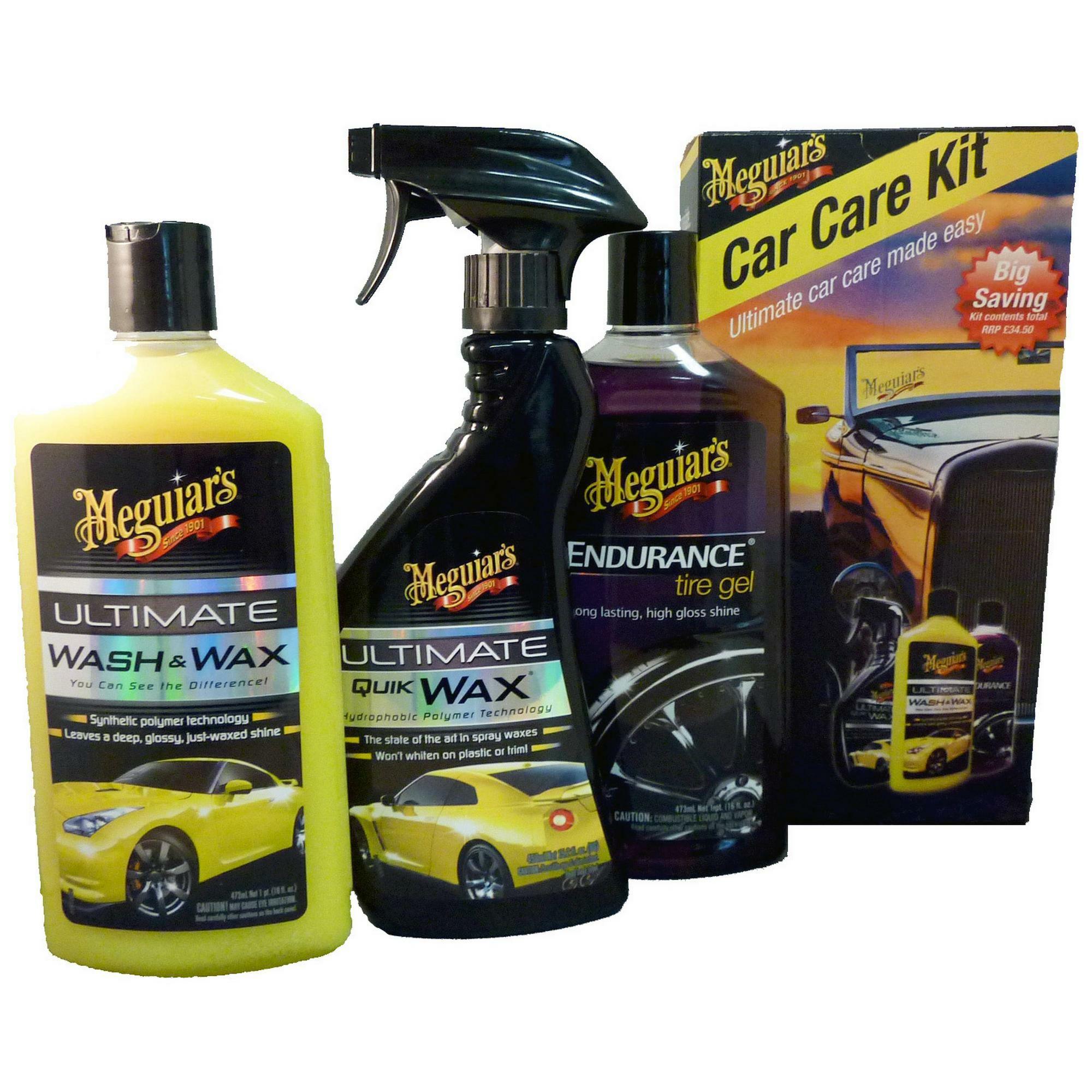 Meguiars Car Care Kit £18 @ Halfords