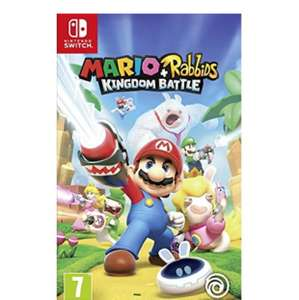 Mario Rabbids Kingdom Battle £34.85 @ Base