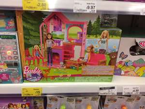 Barbie cabin play set £15 @ Asda instore - gateshead