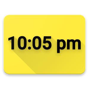 Digital Clock Live Wallpaper - Unique & Minimal Free @ Google Play Store