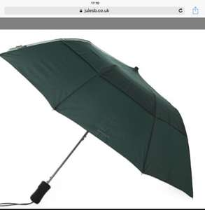 Gentlemans Gant umbrella. Reduced from £34.99 to £15.75 use code EX10 to take it to £14.18 @ Jules B