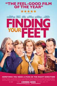 FREE tickets to see FINDING YOUR FEET (See film first) on 15/2/18 6.30pm