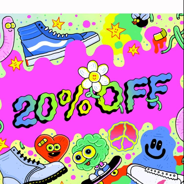 20% student discount @ Schuh