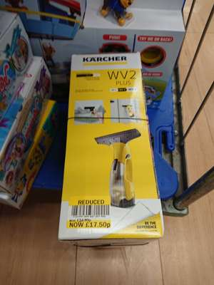 Karcher WV2 Premium Window Vac at Ponders End Tesco instore (London) - £17.50