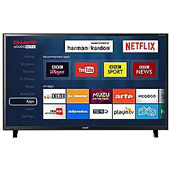 Sharp 50 Inch LC-50CFG6001 Smart Full HD LED TV with Freeview HD & built-in Harmon Kardon Sound System at Ponders End Tesco instore (London) - £265.30