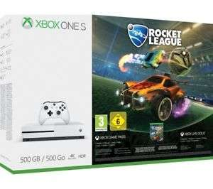 Microsoft Xbox One S with Rocket League & Xbox Live Gold Membership £199.97 @ Currys / ebay
