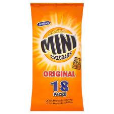 Mini cheddars 18pk £2.00 instore @ Morrisons