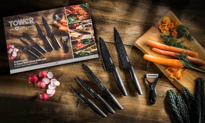 Tower Knife Set £3.99 @ The Food Warehouse Stechford retail park, B'ham