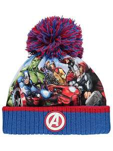 Marvel Avengers boys bobble hat £3 OR spiderman beanie £3 @ asdageorge