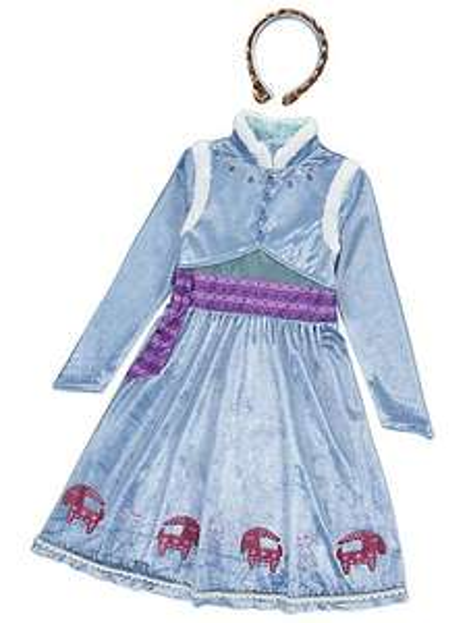 £6 each Anna & Elsa Costume (from Olaf Adventure movie) - Asda George (free c&c)