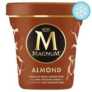 440ml Tubs of Magnum ice cream now 2 for £4 at Tesco