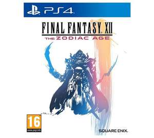 Final Fantasy XII The Zodiac Age (PS4) £11.99 (C&C) @ Argos (Amazon Matched)
