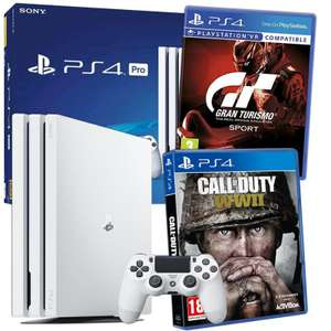 PS4 PRO 1TB White-GT Sports + Call of Duty WWII Bundle £319.42 @ Hitari