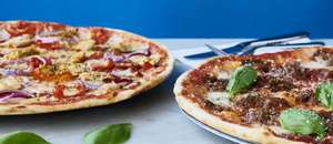 Two main courses for £10 at Pizza Express on 31 January 2018 only
