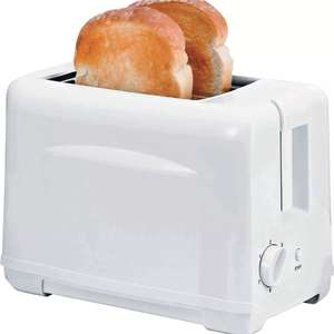 Simple Value 2 Slice Toaster 800W - White only £5 Delivered @ Argos ebay