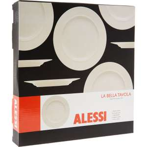 Set Of Two Alessi Cream Dinner Plates £5.99 (RRP £39.99)  TK Maxx (+£1.99 c&c / £3.99 delivery)