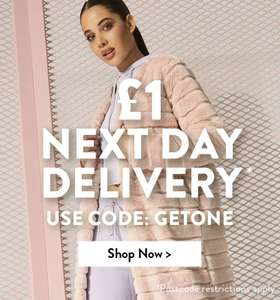 25% off with code WINNER 24hrs only at Boohoo