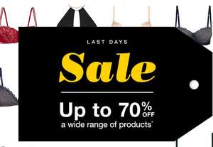 Up to 70% off and free delivery at Wonderbra