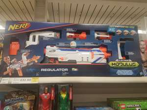 Nerf regulator modulous gun £32.50 Tesco instore - Alloa - Scotland