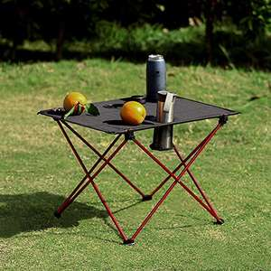 OUTRY Lightweight Portable Camp Table with Cup Holders £15.99 Sold by Outry Direct EU and Fulfilled by Amazon.
