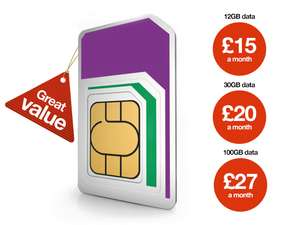 Upgrade to 100GB £30 1 Month Rolling with one-off £59.99 router purchase @ Three