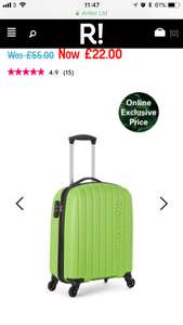Revelation - NAVASSA CABIN SUITCASE 55X40X20CM £22 delivered @ revelation London