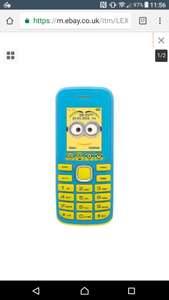 Lexibook Me, kids minions unlocked mobile brand new £9.99 from curry's on ebay free p&p
