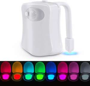 Toilet Night Light 2.99 prime / £6.98 non prime Sold by SumbayEU and Fulfilled by Amazon