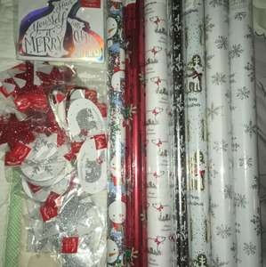 Tesco Christmas Gift Wrap,Tag's & Cards 0.05p-0.25p instore old kent road
