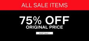 Deichmann 75% off sale is now on online and instore