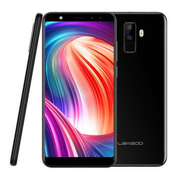 Leagoo M9 5.5 inch 18:9 Quad Camera 2GB RAM 16GB ROM MT6580A 1.3GHz Quad-Core 3G Smartphone £47.22 at Banggood