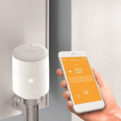 Tado smart thermostat radiator valves  £54 @ Amazon