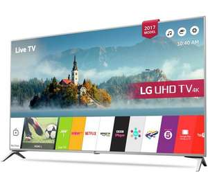 "LG 43"" £369 (43"" now expired) / 49"" £469 / 55"" £569 Smart 4K Ultra HD TV with HDR @ Argos"