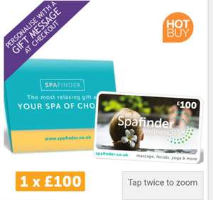 £100 SpaFinder Wellness Gift Card in a Gift Wallet (1 x £100) £69.99 @ Costco