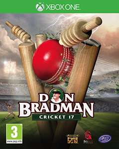 Don Bradman Cricket 17 for Xbox One, £25 at Amazon