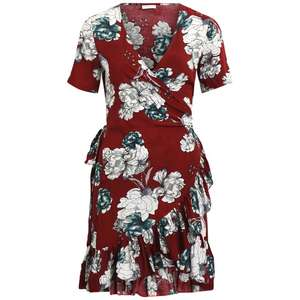 Floral Print Wrapover Dress with Ruffles was £35 now £10.50 / Pack of 2 Crop Tops, 10-16 Years was £11 now £3.30 + Free C+C in upto 70% Off Sale @ La Redoute (also 25% Off Full Price Homeware w/code in Furniture / Bedding / Accessories)