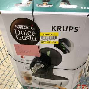 Krups dolce gusto ex display £12.99 @ Tesco - culverhouse cross cardiff