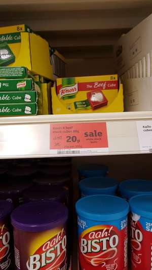 Knorr Beef Stock Pot 20p at Sainsburys instore