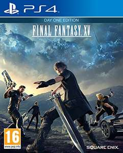 Final Fantasy XV: Day One Edition (PS4) with Prime £12, without Prime £13.99 new at Amazon