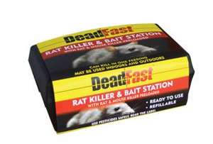 Deadfast rat killer and bait station £1 @ Wickes
