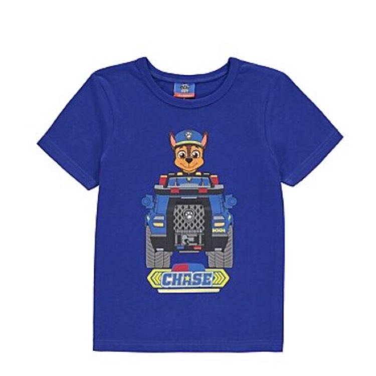 Paw Patrol T-shirt £3 @ George - Free c&c