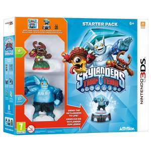 Skylanders Supercharges & Skylanders Trap Team Starter Kits (3DS) £7 each Delivered (with code) @ The Works
