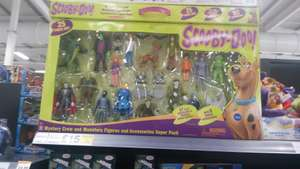 Scooby Doo figure set £15 Tesco Long Eaton