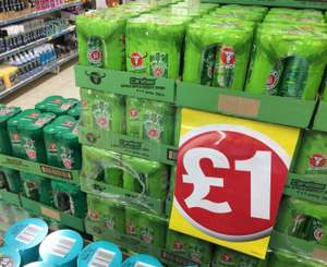 Carabao energy drink 4pk (330ml) £1 in store at Poundland. Original and green apple flavours.