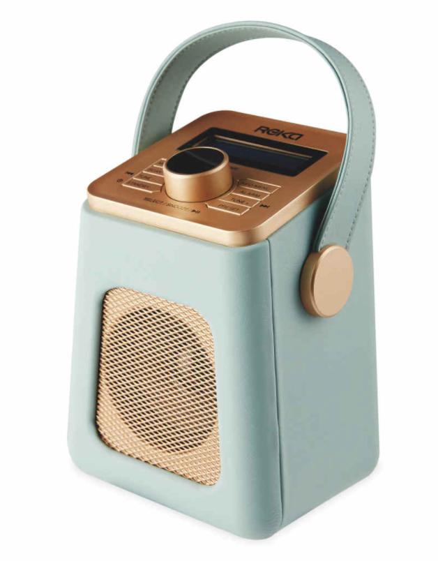 Aldi - Reka Duck Egg DAB & FM Radio £29.99